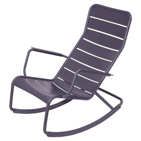 Luxembourg Rocking Chair in Plum