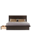 Serra Wood Panel Bed by West Bros