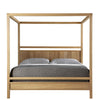 Fulton Wood Panel Bed by West Bros