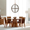 Phase Round Pedestal Table by West Bros