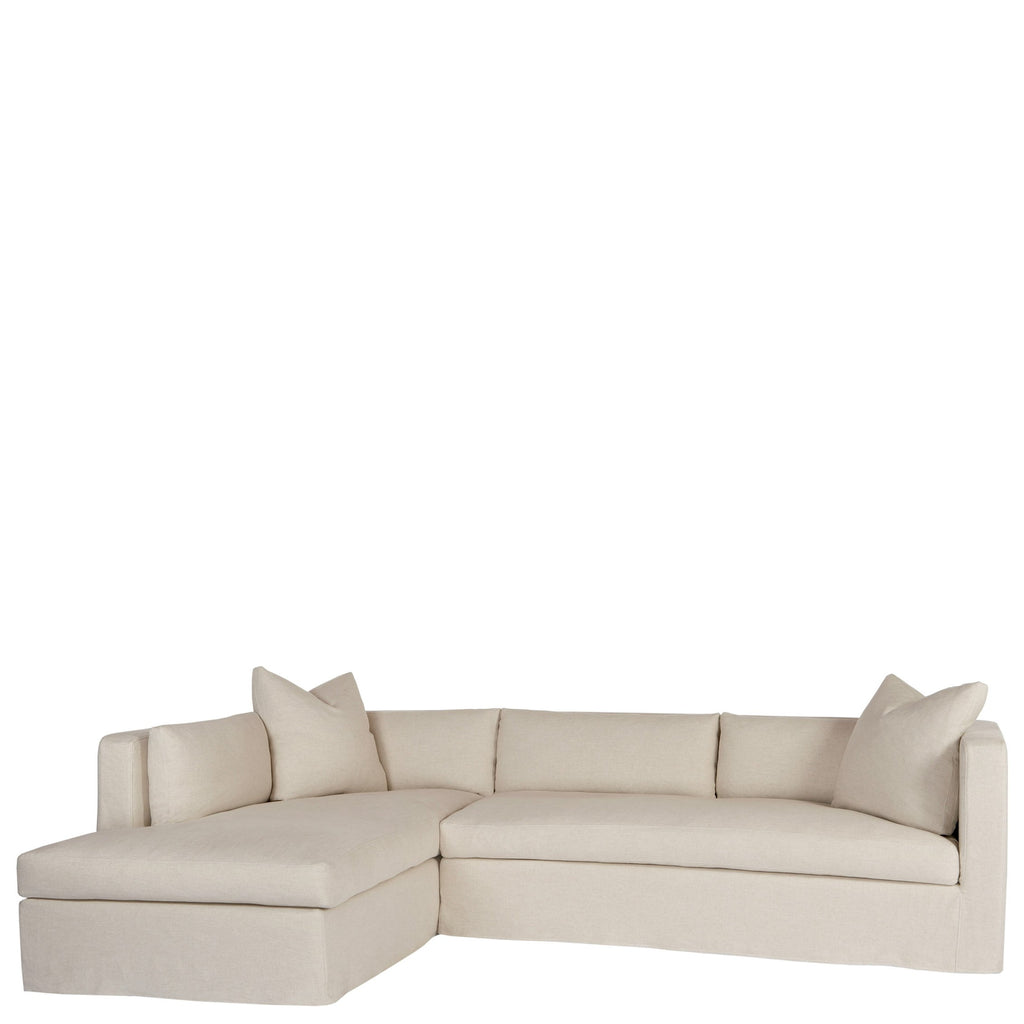 Agosto Two Piece Sectional - Urban Natural Home Furnishings.  Sectional, Cisco Brothers