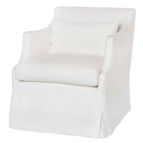 Amalia Slipcovered Chair - Urban Natural Home Furnishings.  Living Room Chair, Cisco Brothers