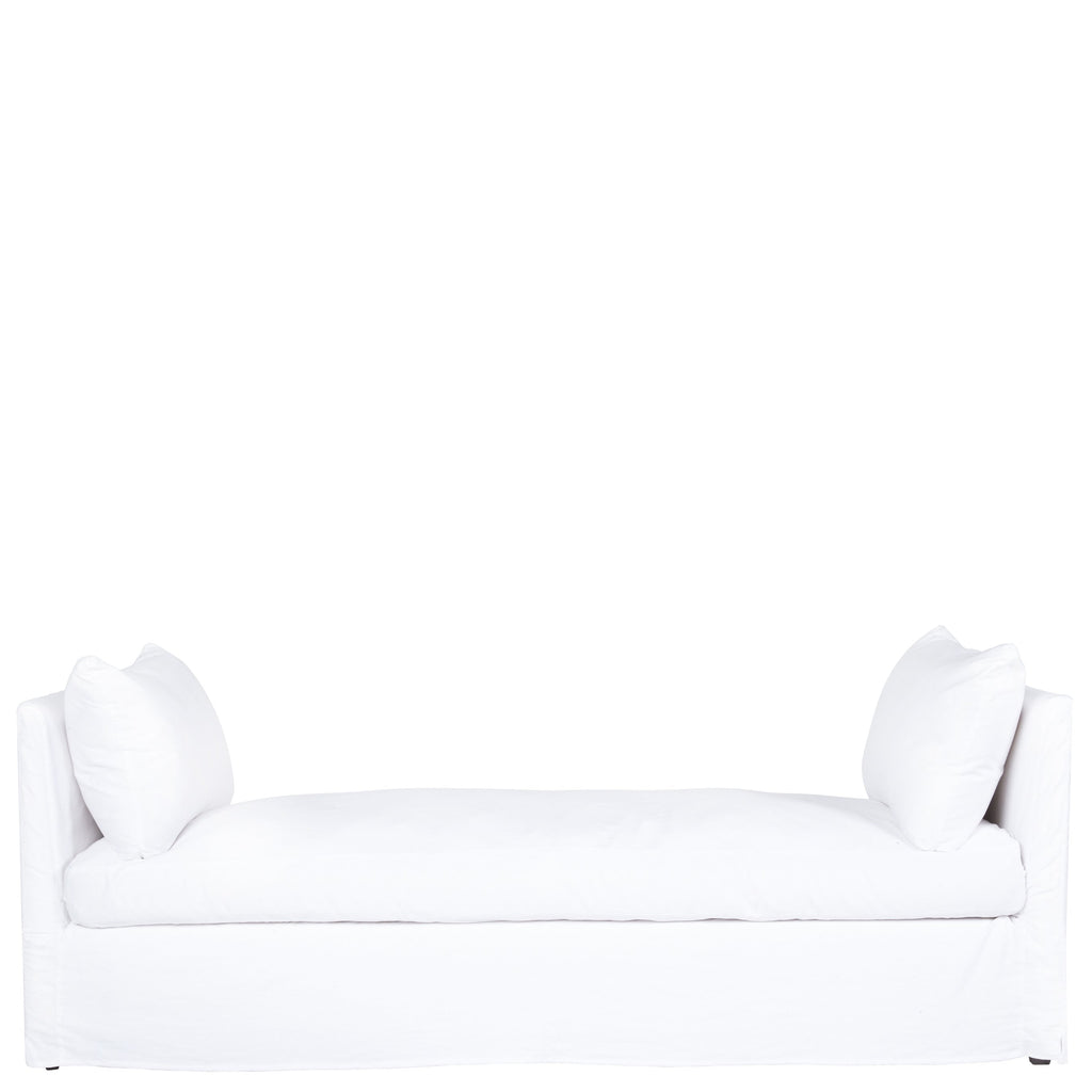April Slipcovered Day Bed - Urban Natural Home Furnishings.  Chaises, Cisco Brothers