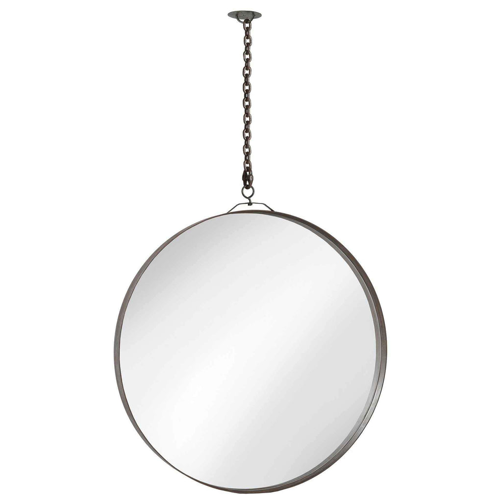 Ara Ring Mirror With Chain - Urban Natural Home Furnishings.  Mirrors, Cisco Brothers