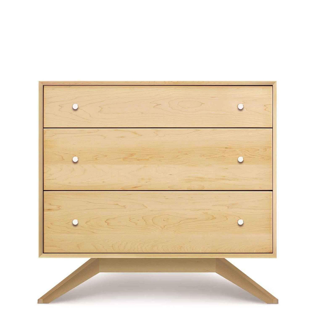 Astrid 3 Drawer Dresser in Maple - Urban Natural Home Furnishings.  Dressers & Armoires, Copeland