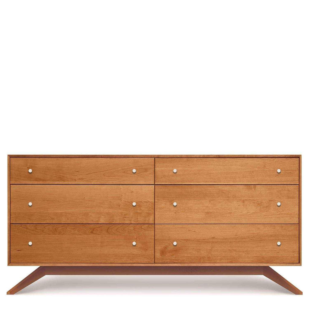 Astrid Six-Drawer Dresser in Cherry - Urban Natural Home Furnishings.  Dressers & Armoires, Copeland