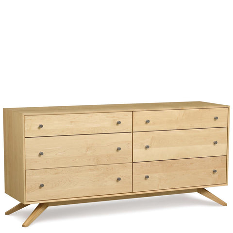 Astrid Six-Drawer Dresser in Maple - Urban Natural Home Furnishings.  Dressers & Armoires, Copeland