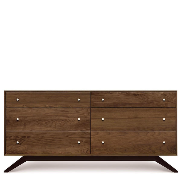 Astrid Six-Drawer Dresser in Walnut - Urban Natural Home Furnishings.  Dressers & Armoires, Copeland