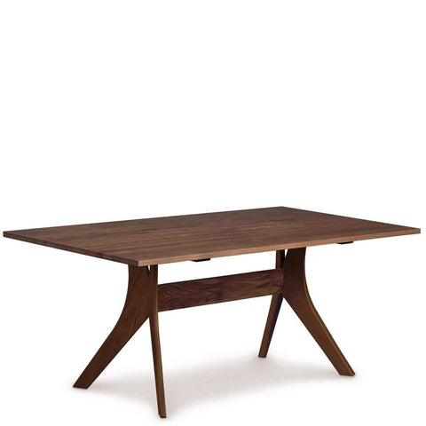 Audrey Fixed Top Tables in Natural Walnut - Urban Natural Home Furnishings.  Dining Table, Copeland