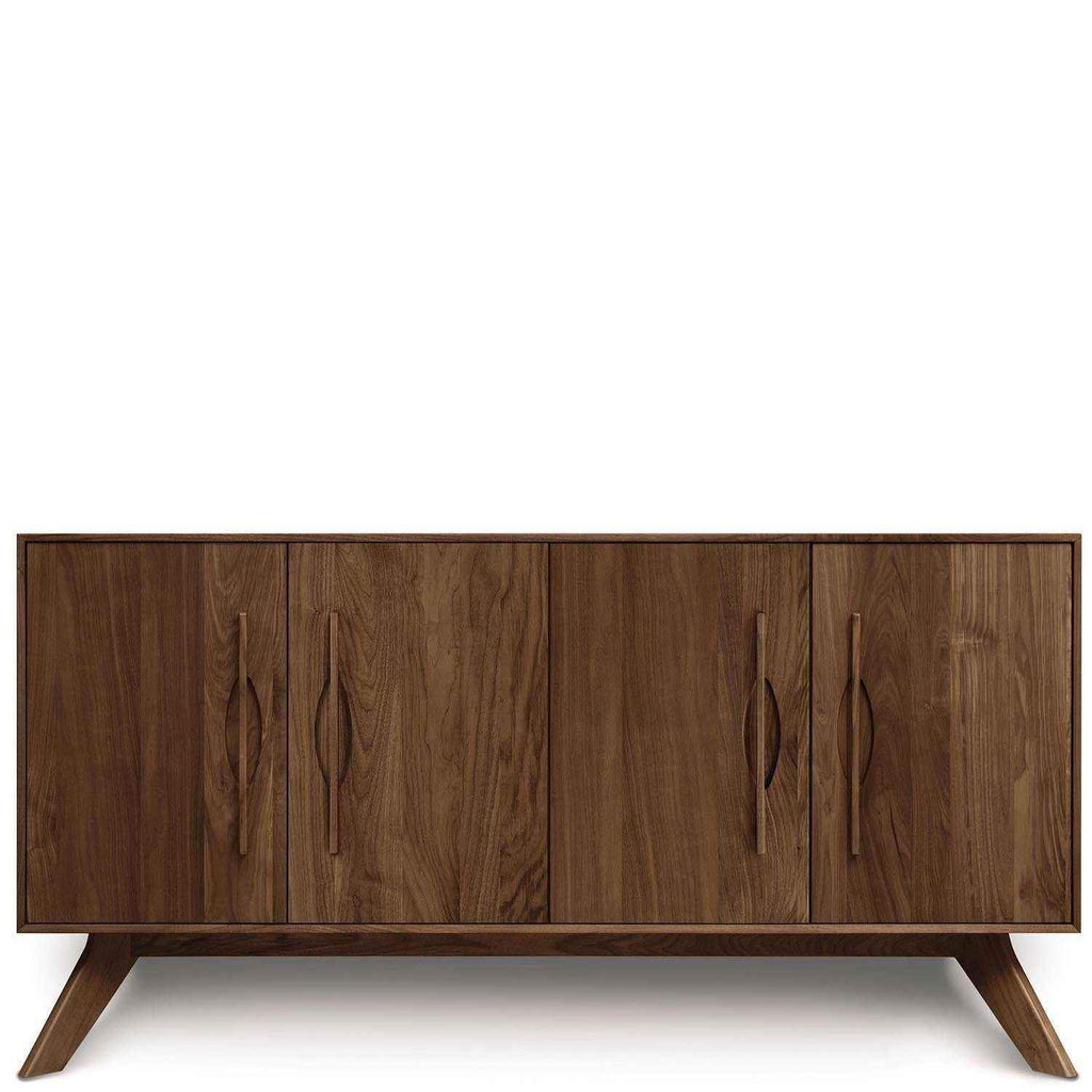 Audrey 4 Door Buffet in Walnut - Urban Natural Home Furnishings.  Buffet, Copeland