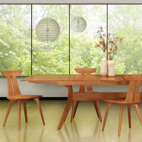 Audrey Extension Table in Cherry - Urban Natural Home Furnishings.  Dining Table, Copeland