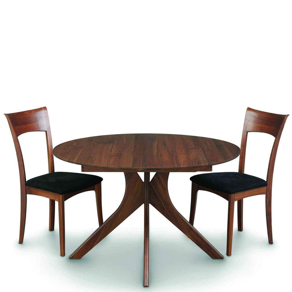Audrey Round Extension Table In Walnut   Urban Natural Home Furnishings.  Dining Table, Copeland