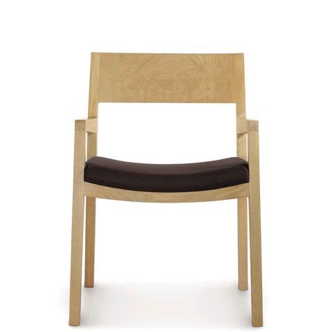 Austin Armchair with Upholstery in Oak