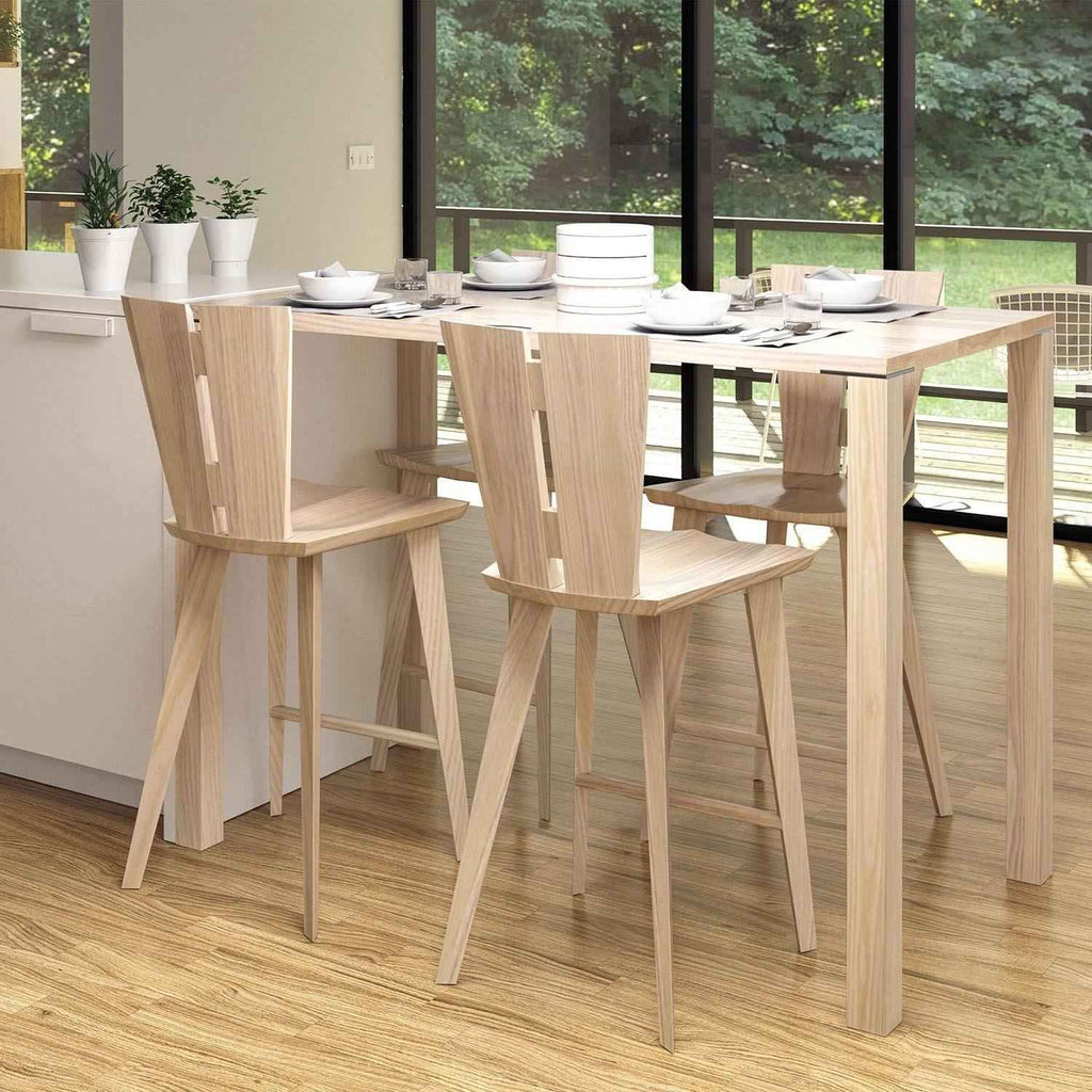 Axis Bar Stool in Ash - Urban Natural Home Furnishings.  Dining Chair, Copeland