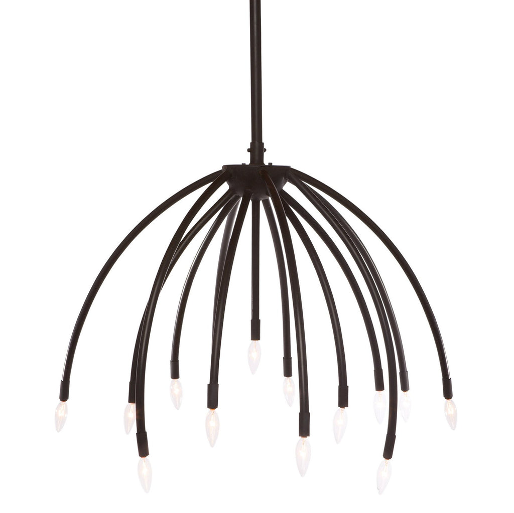 Blossom Chandelier - Black - Urban Natural Home Furnishings.  Chandelier, Cisco Brothers