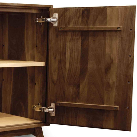 Catalina Buffet (3 Drawers on left, 2 Doors on right) in Walnut