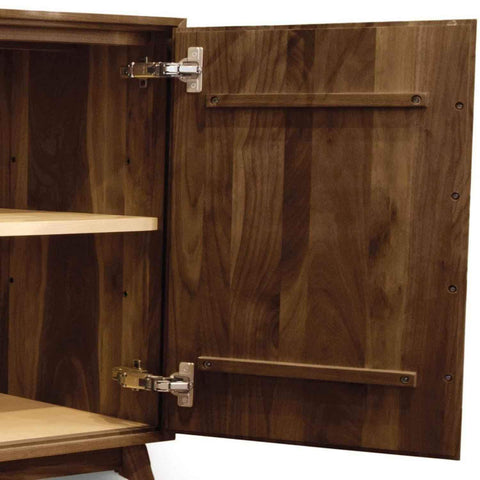Audrey 4 Door Buffet in Walnut