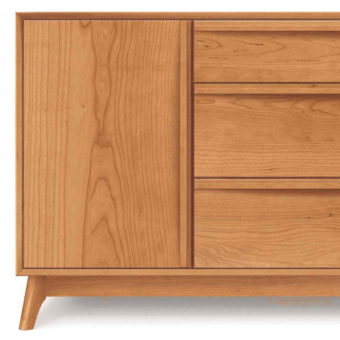Catalina Buffet (2 Doors on Side, 3 Drawers in Middle) in Cherry