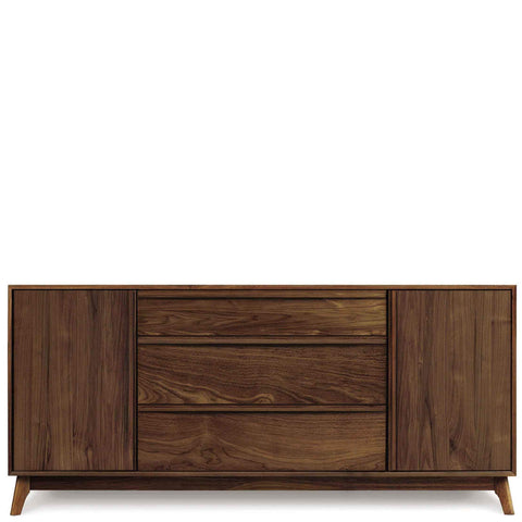 Catalina Buffet (2 Doors on Side, 3 Drawers in Middle) in Walnut by Copeland