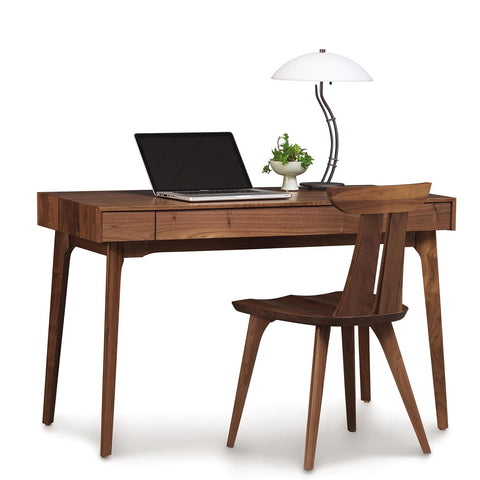 Catalina Desk in Walnut by Copeland