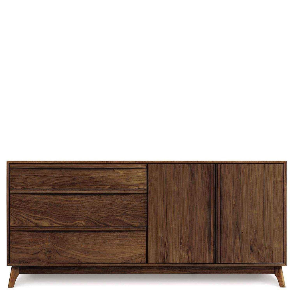 Catalina Buffet (3 Drawers on left, 2 Doors on right) in Walnut by Copeland