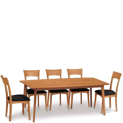 Catalina Fixed Top Table in Cherry - Urban Natural Home Furnishings.  Dining Table, Copeland