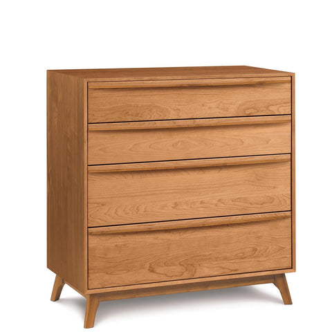 Catalina Four-Drawer Dresser in Cherry - Urban Natural Home Furnishings.  Dressers & Armoires, Copeland