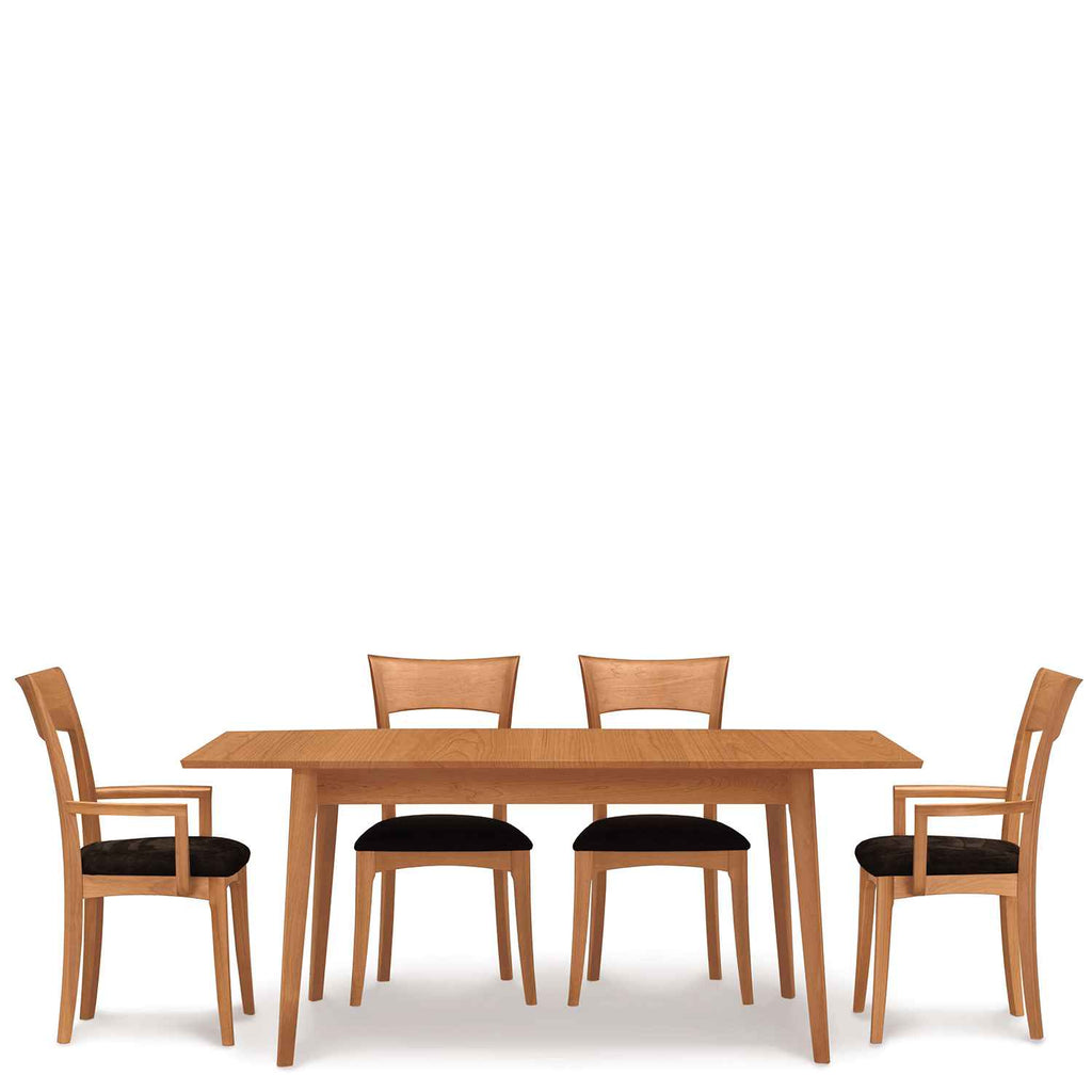 Catalina Four Leg Extension Table in Cherry by Copeland