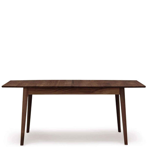 Catalina Four Leg Extension Table in Walnut - Urban Natural Home Furnishings.  Dining Table, Copeland