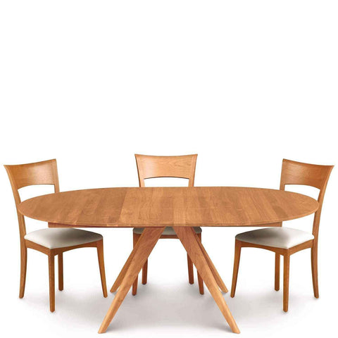 Catalina Round Dining Table in Cherry - Urban Natural Home Furnishings.  Dining Table, Copeland