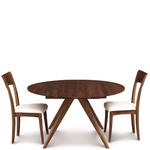 Catalina Round Dining Table in Walnut - Urban Natural Home Furnishings.  Dining Table, Copeland