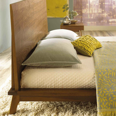 Catalina Bed in Walnut