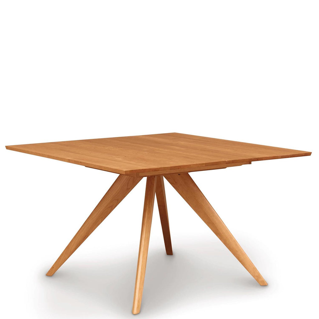 "Catalina 48"" Square Top Extension Table in Cherry - Urban Natural Home Furnishings.  Dining Table, Copeland"