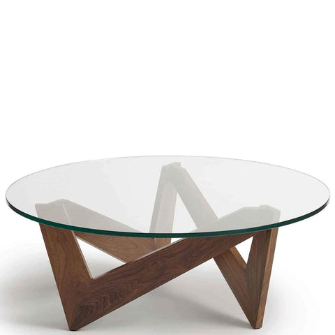 Check Round Coffee Table - Urban Natural Home Furnishings.  Coffee Table, Copeland