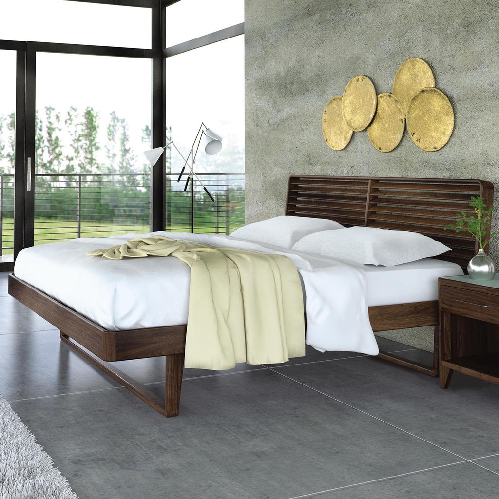 Contour Bed in Walnut by Copeland