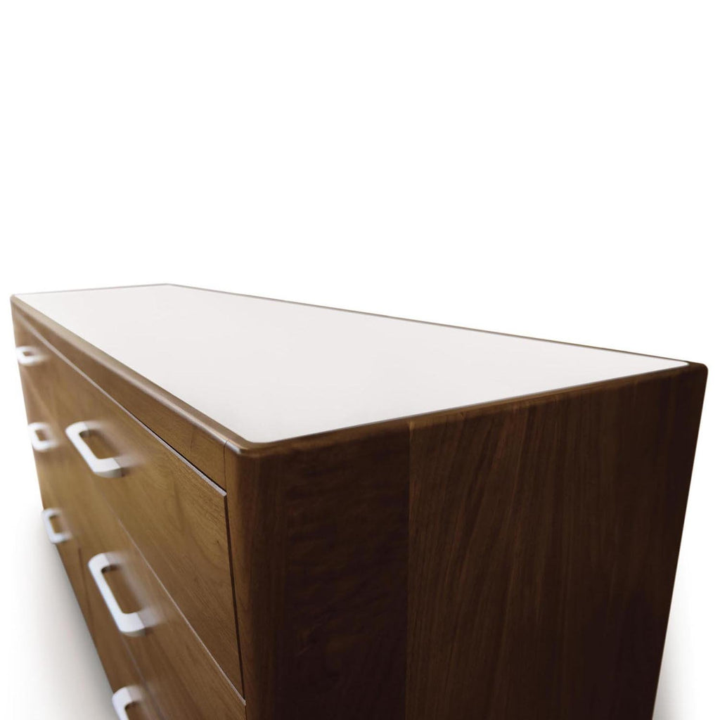 Contour 4 Drawer Dresser in Walnut - Urban Natural Home Furnishings.  Dressers & Armoires, Copeland