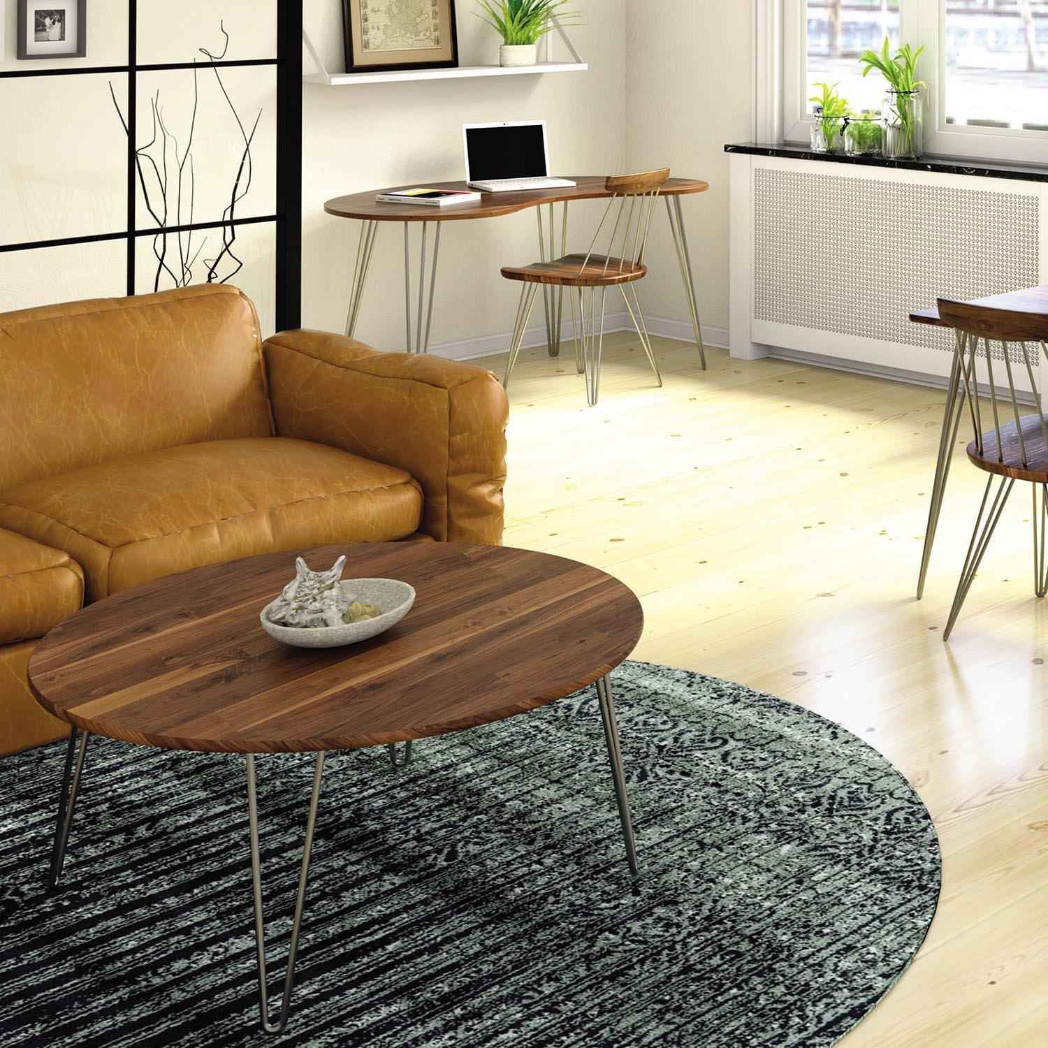 Essentials Round Coffee Table Copeland Urban Natural Home Furnishings
