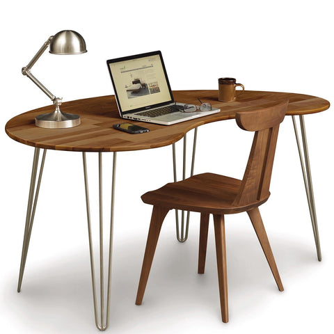 Essentials Kidney Shaped Desk - Urban Natural Home Furnishings.  Desks, Copeland