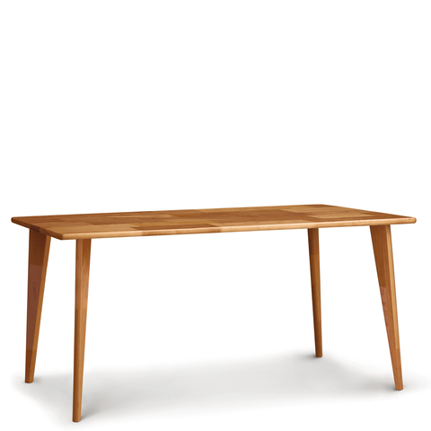 Essentials Dining Table, Wooden Legs