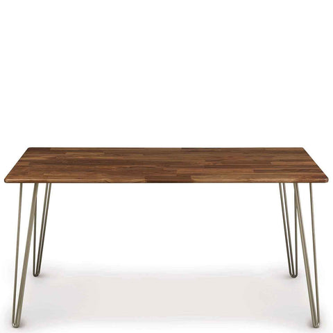 Essentials Dining Table, Metal Legs