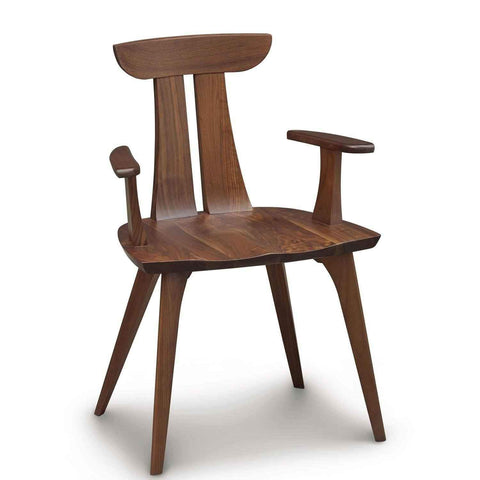 Estelle Armchair in Walnut by Copeland