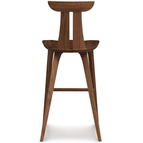 Estelle Bar Stool in Natural Walnut - Urban Natural Home Furnishings.  Counter Stools, Copeland