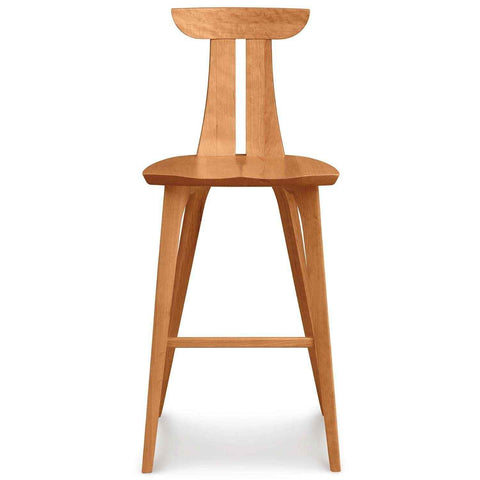 Estelle Bar Stool in Cherry - Urban Natural Home Furnishings.  Counter Stools, Copeland