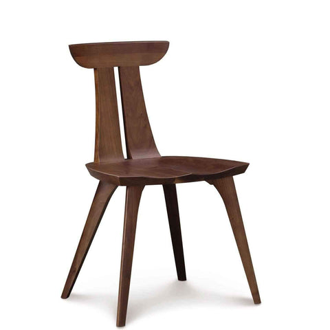 Estelle Sidechair in Natural Walnut - Urban Natural Home Furnishings.  Counter Stools, Copeland