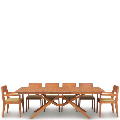 Exeter Single Leaf Extension Table in Cherry - Urban Natural Home Furnishings.  Dining Table, Copeland