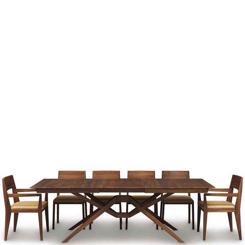 Exeter Single Leaf Extension Table in Walnut - Urban Natural Home Furnishings.  Dining Table, Copeland