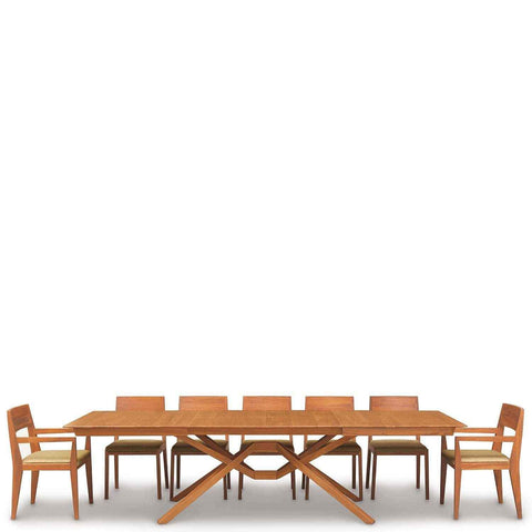 Exeter Double Leaf Extension Table in Cherry - Urban Natural Home Furnishings.  Dining Table, Copeland