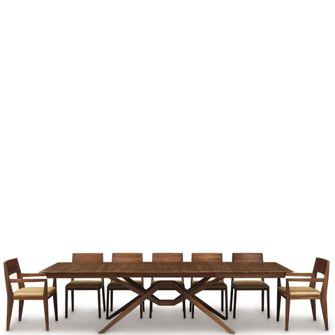 Exeter Double Leaf Extension Table in Walnut - Urban Natural Home Furnishings.  Dining Table, Copeland