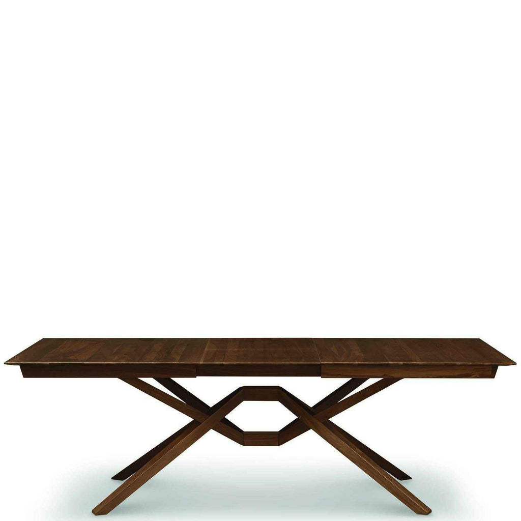 Leaf Exeter Extension Walnut In Single Table kPOuXZiT