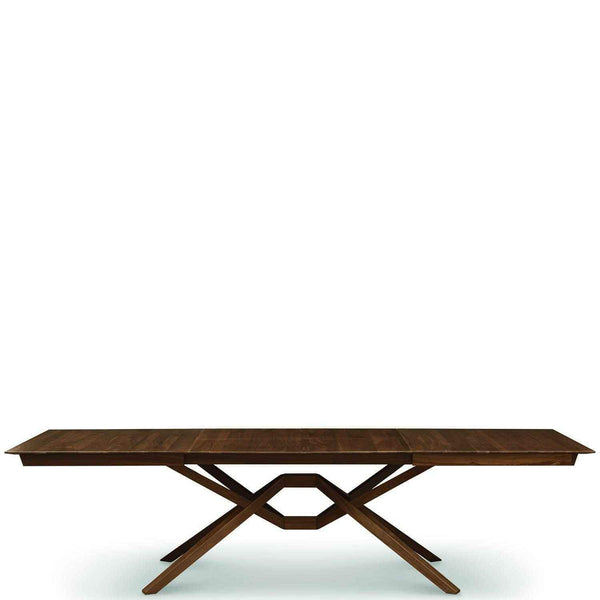 Exeter Double Leaf Extension Table In Walnut